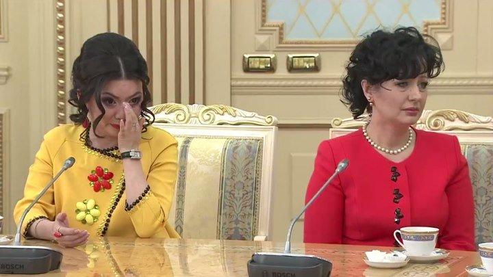 Назарбаев довел женщин до слез... Поучительная история про меркантильных девушек