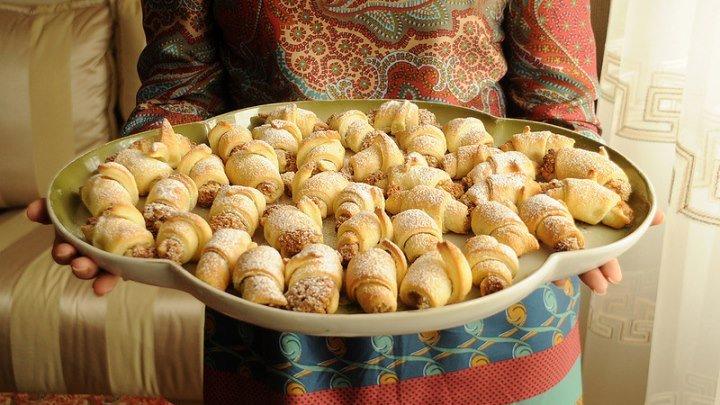 Азербайджанская кухня - Мутаки Бакинские с Ореховой Начинкой