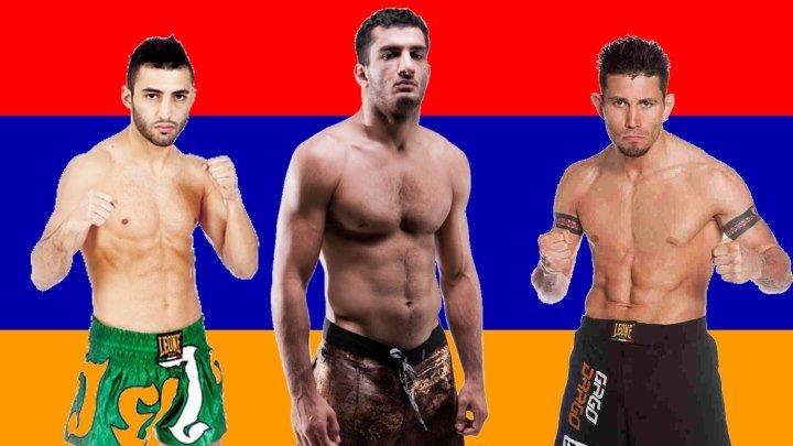 Армянские бойцы ужасают мир MMA (супер подборка)