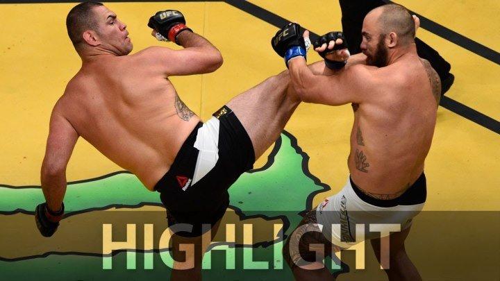 Лучшие нокауты с разворота UFC MMA