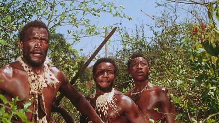 Голая добыча / The Naked Prey (США, ЮАР 1966 HD 1080p) Приключения, остросюжетный