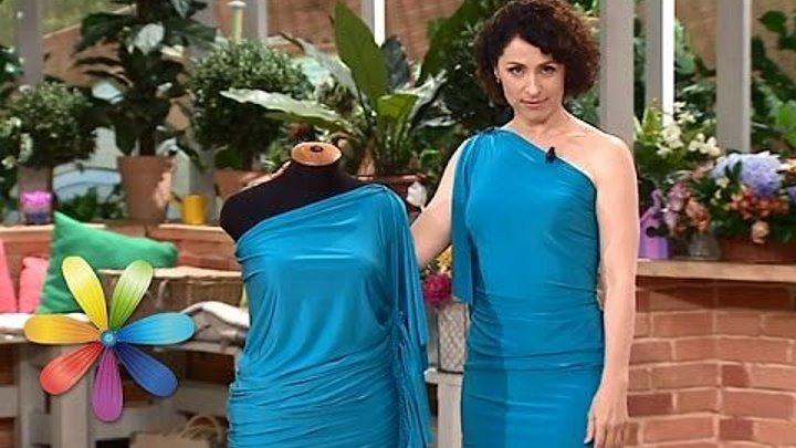 Как сделать платье одним швом
