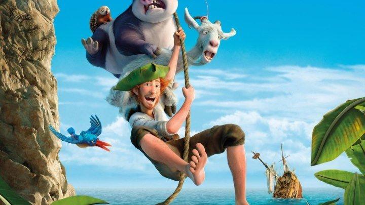 Робинзон Крузо: Очень обитаемый остров HD(Мультфильм, Комедия, Приключения)2016