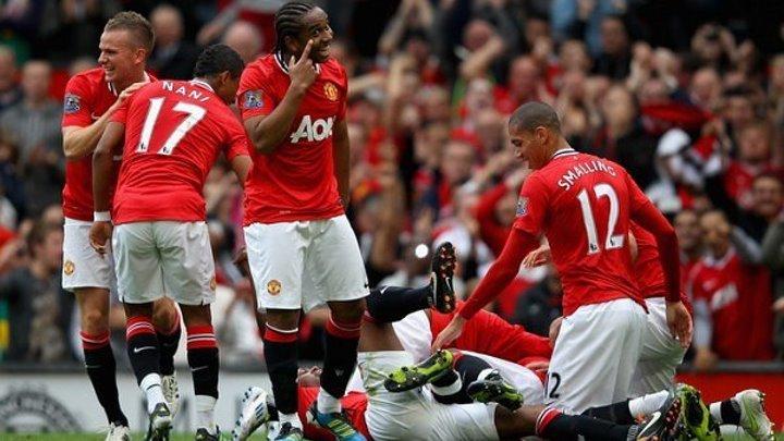 Манчестер Юнайтед - Арсенал 8-2 (Матч 2011 года)