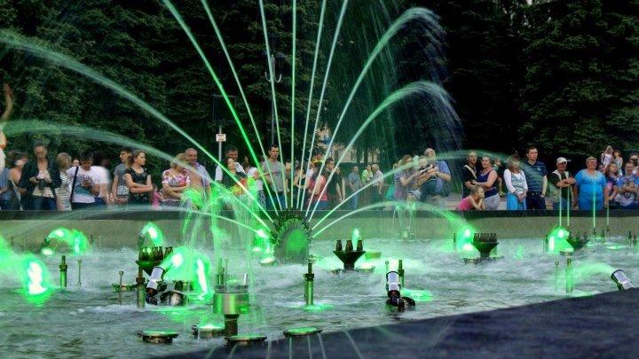 Поющий фонтан Челябинск