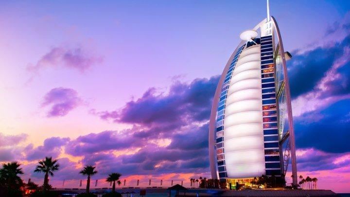 Арабская башня - семизвездочный отель в Дубай, ОАЭ. Чудеса инженерии Бурдж-эль-Араб