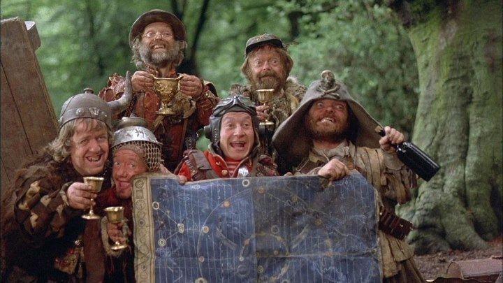 Бандиты во времени / Time Bandits (1981 HD) Комедия, Приключения, Триллер, Фантастика