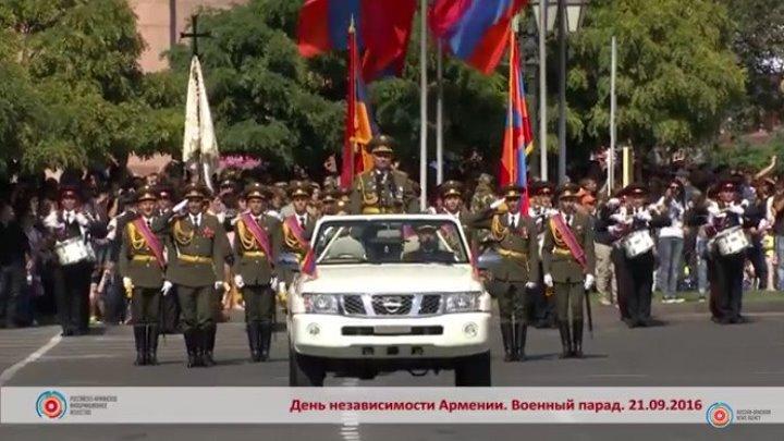 День независимости Армении: военный парад за 60 секунд