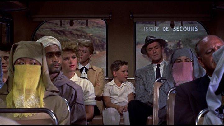 Человек, который слишком много знал (1956 HD) Триллер, Детектив