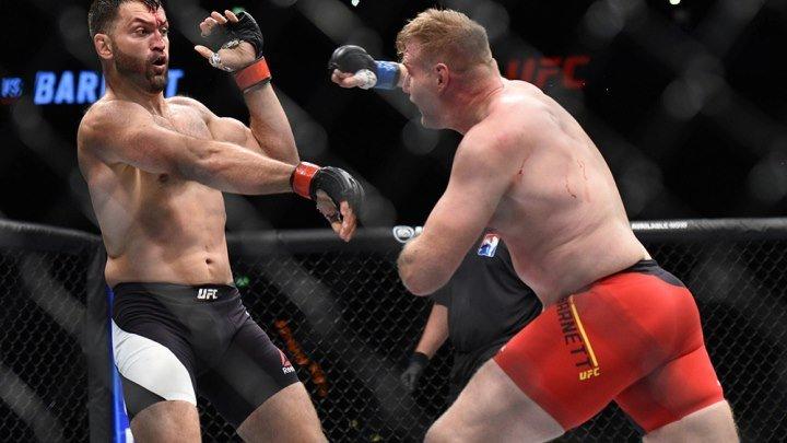 Андрей Арловский - Джош Барнетт UFC Fight Night Hamburg 3 Sept 2016