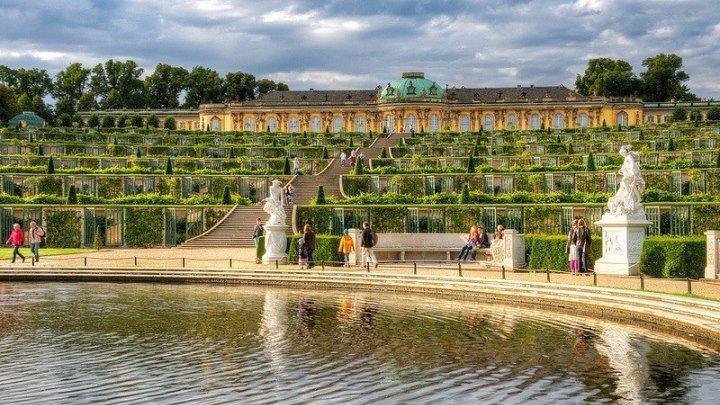 Дворец и парк Сан-Суси в Потсдаме | Всё о Германии