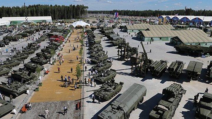 Армия-2016_ Минобороны за один день выставки подписало контракты на 130 млрд рублей
