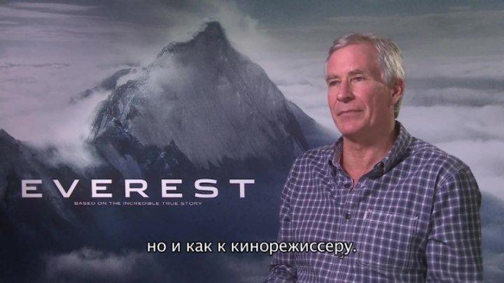 Видео о съёмках фильма Эверест / Everest 2015