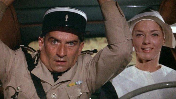 Жандарм из Сен-Тропе HD(комедия, криминал)1964 (6+)