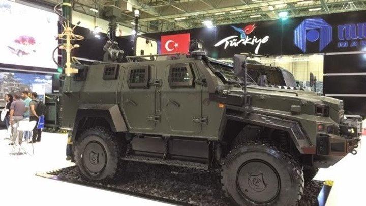 Лучшие турецкие броневики