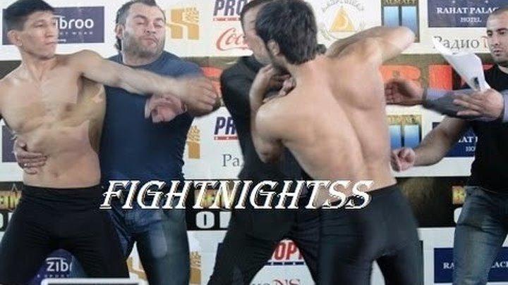 Взвешивание и супер бой Зубайра Тухугов vs Куат Хамитов