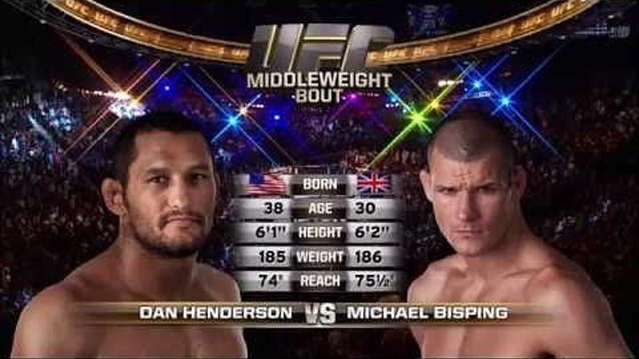 UFC 204 Free Fight- Dan Henderson vs Michael Bisping 1