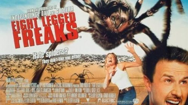 Атака пауков (2002) Ужасы, фантастика, комедия HDTVRip-AVC 480 DUB Дэвид Аркетт, Кари Уорер, Скотт Терра, Скарлетт Йоханссон