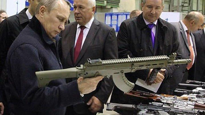 Путин поздравил рабочих концерна «Калашников» с Днем оружейника