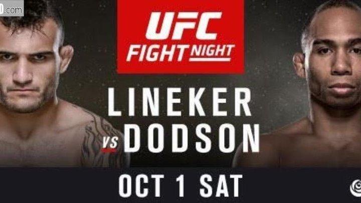 UFC Fight Night 96 - Lineker vs. Dodson [01.10.2016]