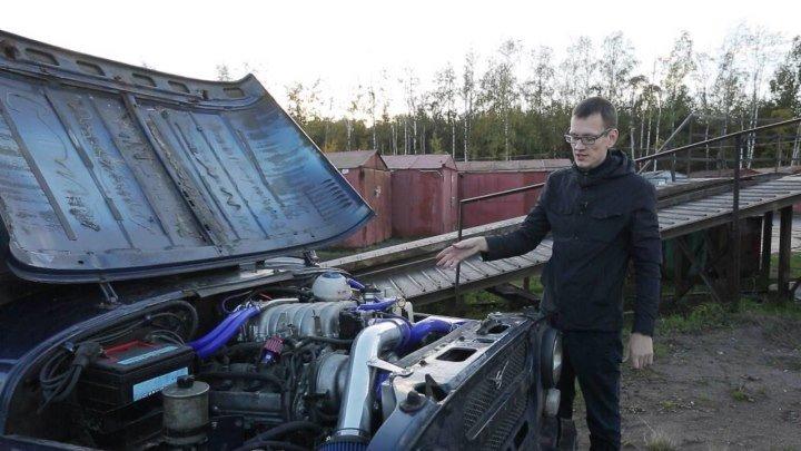 АнтиГелик (3ч.) Строим УАЗ V8 на 300 лошадей.