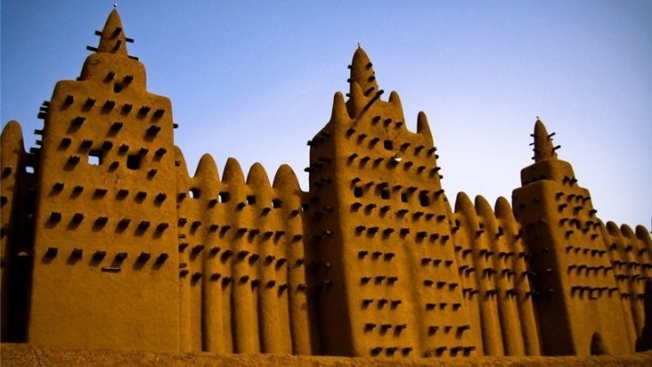 """Мечети мира. HD """"Дженне"""" в Мали.Африка"""