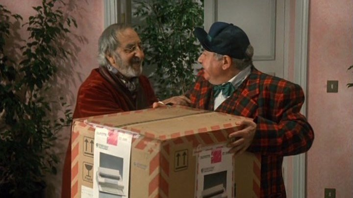 Выигрыш в новогоднюю лотерею (комедия с Паоло Вилладжо)   Италия, 1989