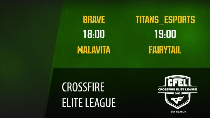 CFEL 2 тур: Brave vs Malavita | Titans_eSports vs FairyTail