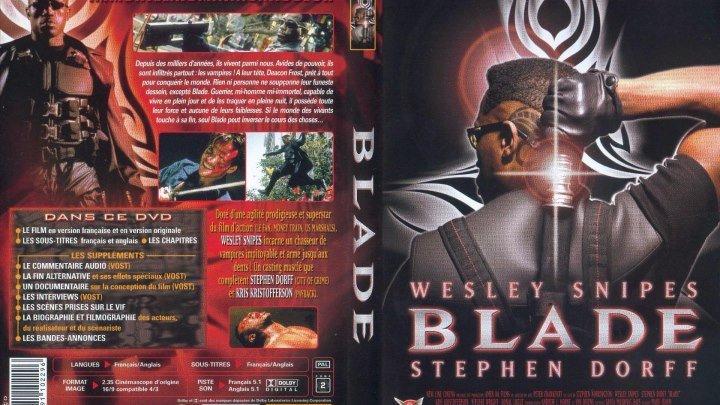 "К/Ф "" Блэйд "" 1998 (18+) США. Ужасы, Фантастика, Фэнтези, Боевик"
