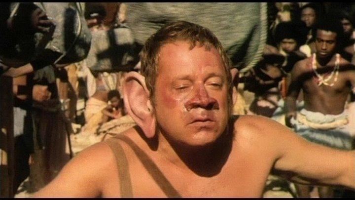 Синьор Робинзон (1976)Комедия, Мелодрама, Приключения.