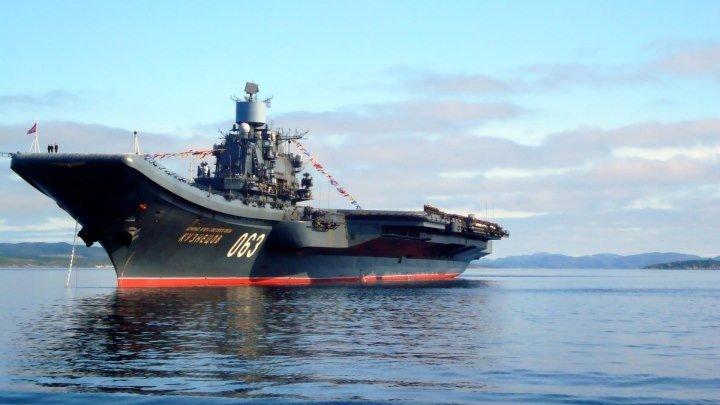 «Адмирал Кузнецов» Первый боевой выход»