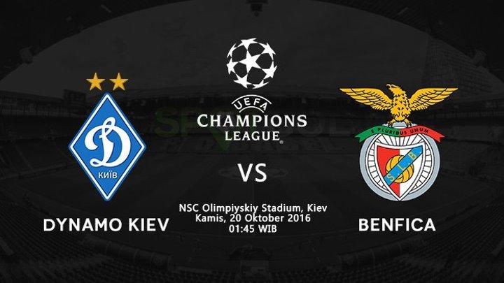 Динамо Киев vs Бенфика (0:2)