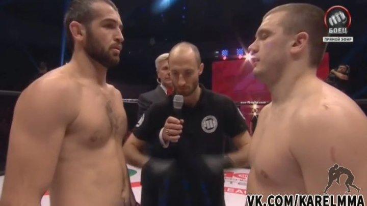 Шамиль Абдулхаликов vs. Михаил Царев. ACB 48 Revenge