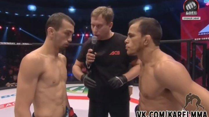 Аскар Аскаров vs. Хосе Мария Тоум. Чемпионский бой. ACB 48 Revenge