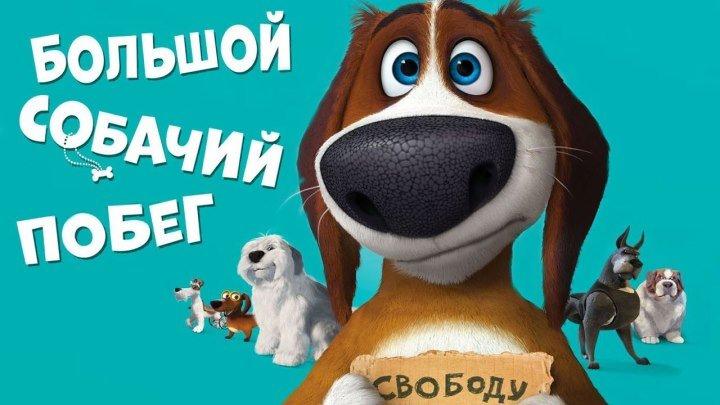Большой собачий побег (2016).HD (Комедия мультфильмы приключения)