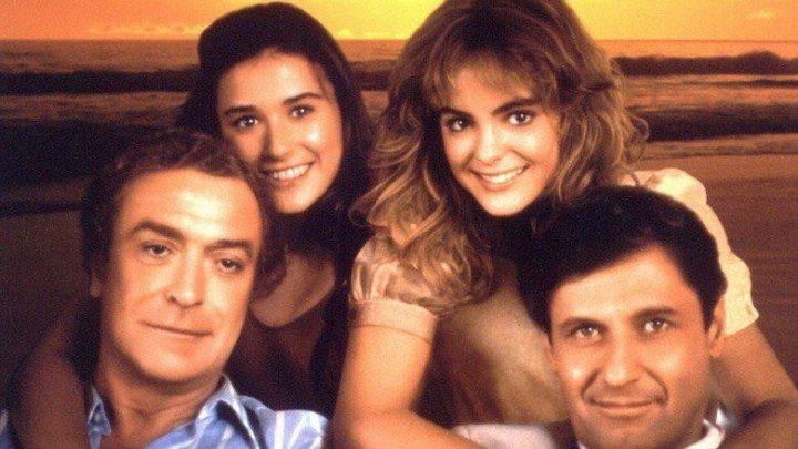 Во всем виноват Рио (1984) мелодрама, комедия BDRip от HQCLUB P (5 канал) Майкл Кейн, Джозеф Болонья, Деми Мур, Валери Харпер, Мишель Джонсон