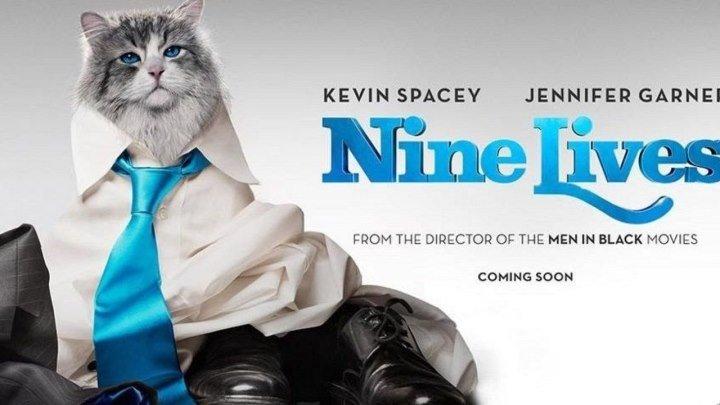 Девять жизней / Nine Lives (2016 HD) Комедия, Семейный, Фэнтези