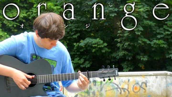 Orange OP 'Hikari no Hahen' [Fingerstyle Guitar Cover by Eddie van der Meer] オレンジ Opening