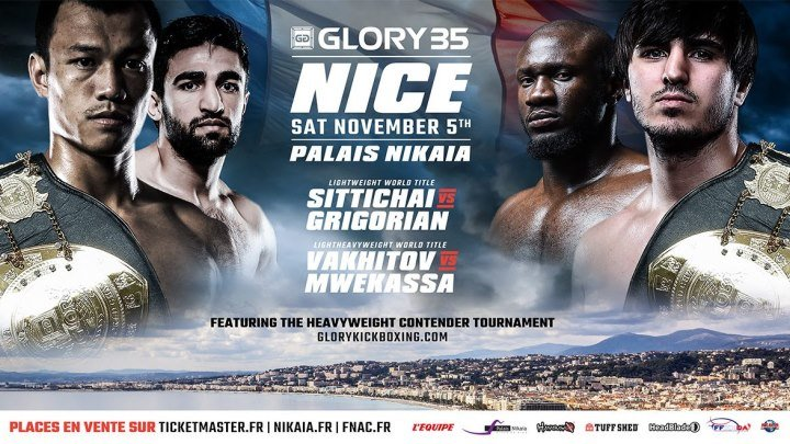 Glory 35: Nice (05.11.2016) Nice, France