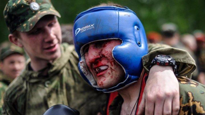 --Вот так Русские бойцы сдают на краповый берет!--