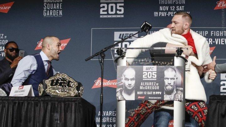 UFC 205 Ярчайшие моменты предматчевой пресс-конференции