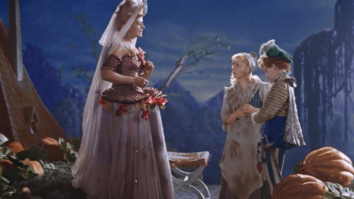 """Фильм - Сказка """"Золушка"""" в HD (1947) Цветная верcия, полная реставрация"""