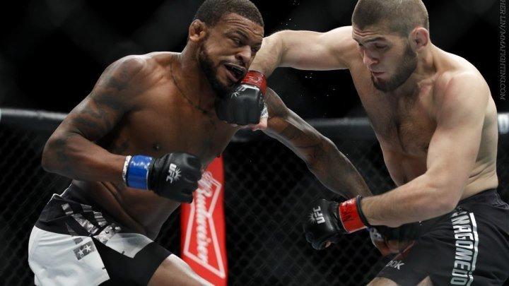 Хабиб Нурмагомедов - Майкл Джонсон (12.11.2016) UFC 205