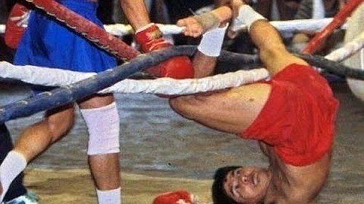 Смешные моменты в боксе)))