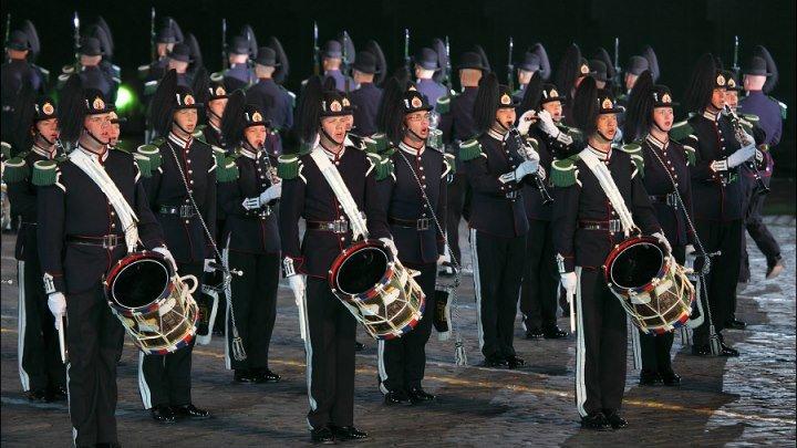 """Прощание славянки"". Королевский оркестр Норвегии."