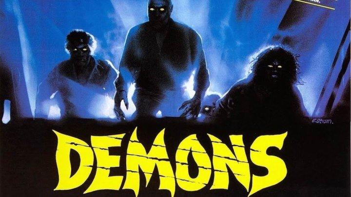 Демоны (1985) ужасы BDRip P Урбано Барберини, Наташа Хови, Карл Синни, Фьоре Ардженто, Паола Коццо, Фабиола Толедо