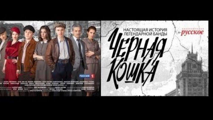 ЧЁРНАЯ КОШКА (12 серия Драма-Криминал Россия-2016г.) Сериал