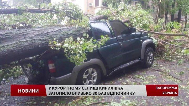 Украина. Ураган. Дождь. Город Одесса. 12 октября 2016.