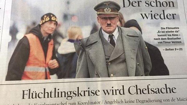 Он снова здесь (Германия 2015 HD) Комедия ツ