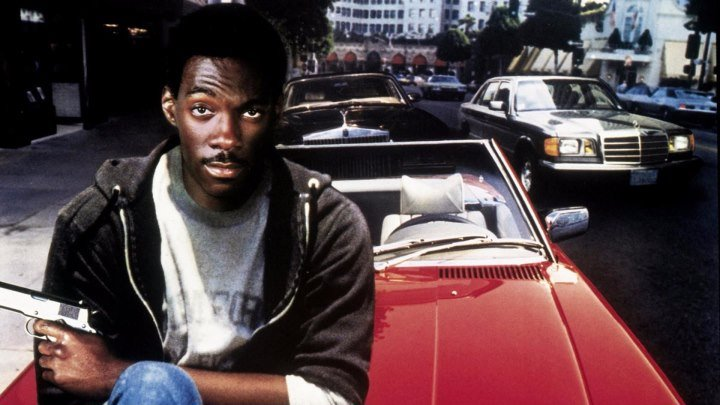 """Полицейский из Беверли Хиллз"" _ (1984) Боевик,криминал,комедия. (HD 1080p.)"